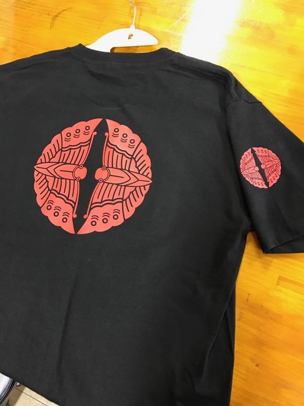 家紋グッズ新商品 家紋 Tシャツ