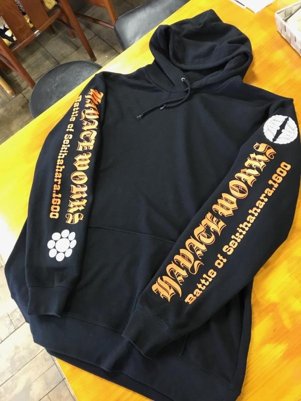 冬の定番アイテム!オリジナルパーカー 岐阜オリジナルTシャツ ハヤテワークス
